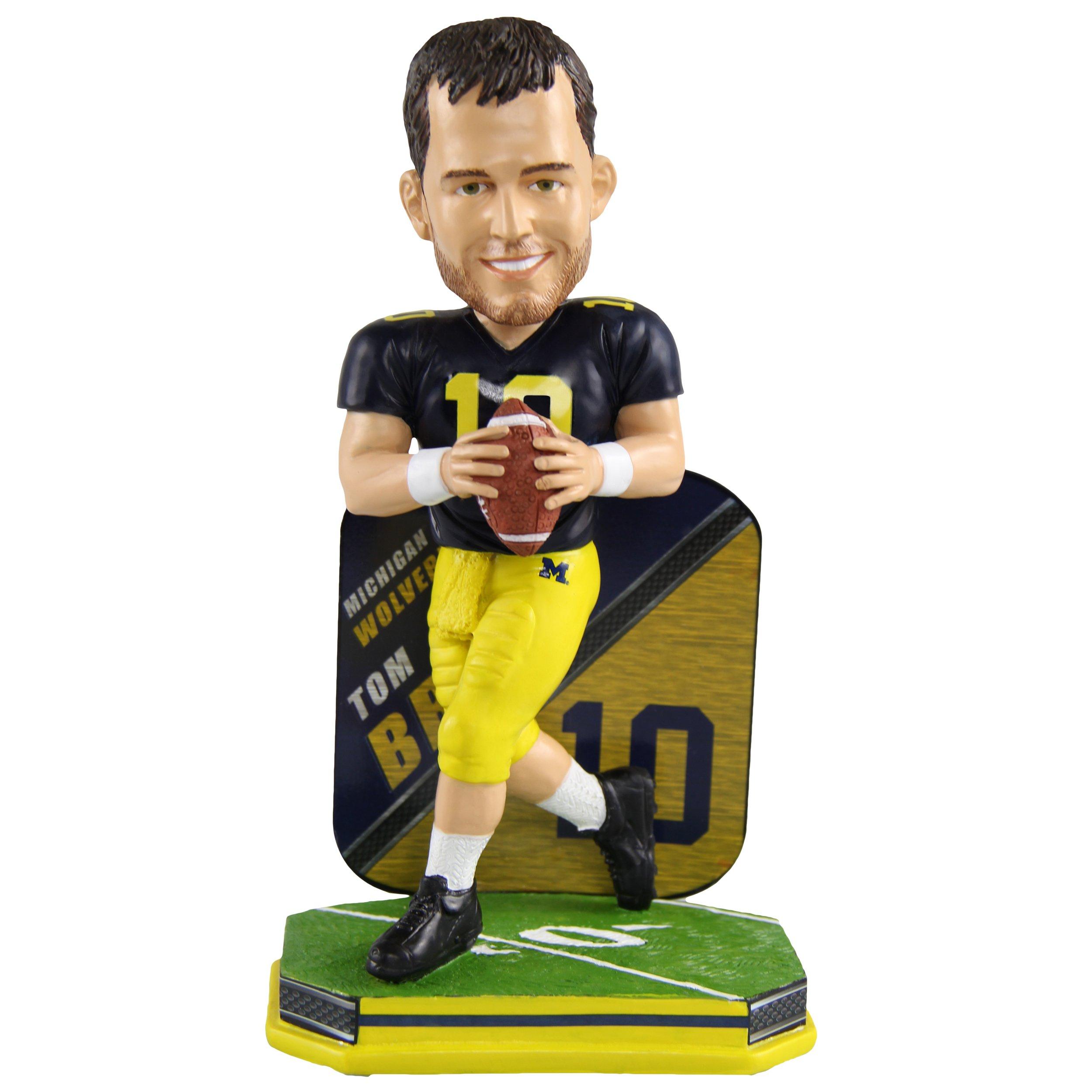 Tom Brady Michigan Wolverines Special Edition College Bobblehead NCAA