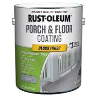 RUST-OLEUM 320473 Floor Coating Urethane Modified Acrylic 1 gal., Gloss Dove