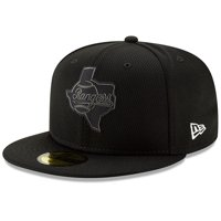 premium selection 9eb58 c90e6 Product Image Texas Rangers New Era Clubhouse Collection 59FIFTY Fitted Hat  - Black