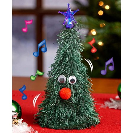 Singing Christmas Tree.Singing Christmas Tree