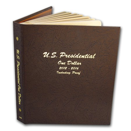 2007 2016 P  D   S 115 Coin Presidential Proof Set  Dansco Album