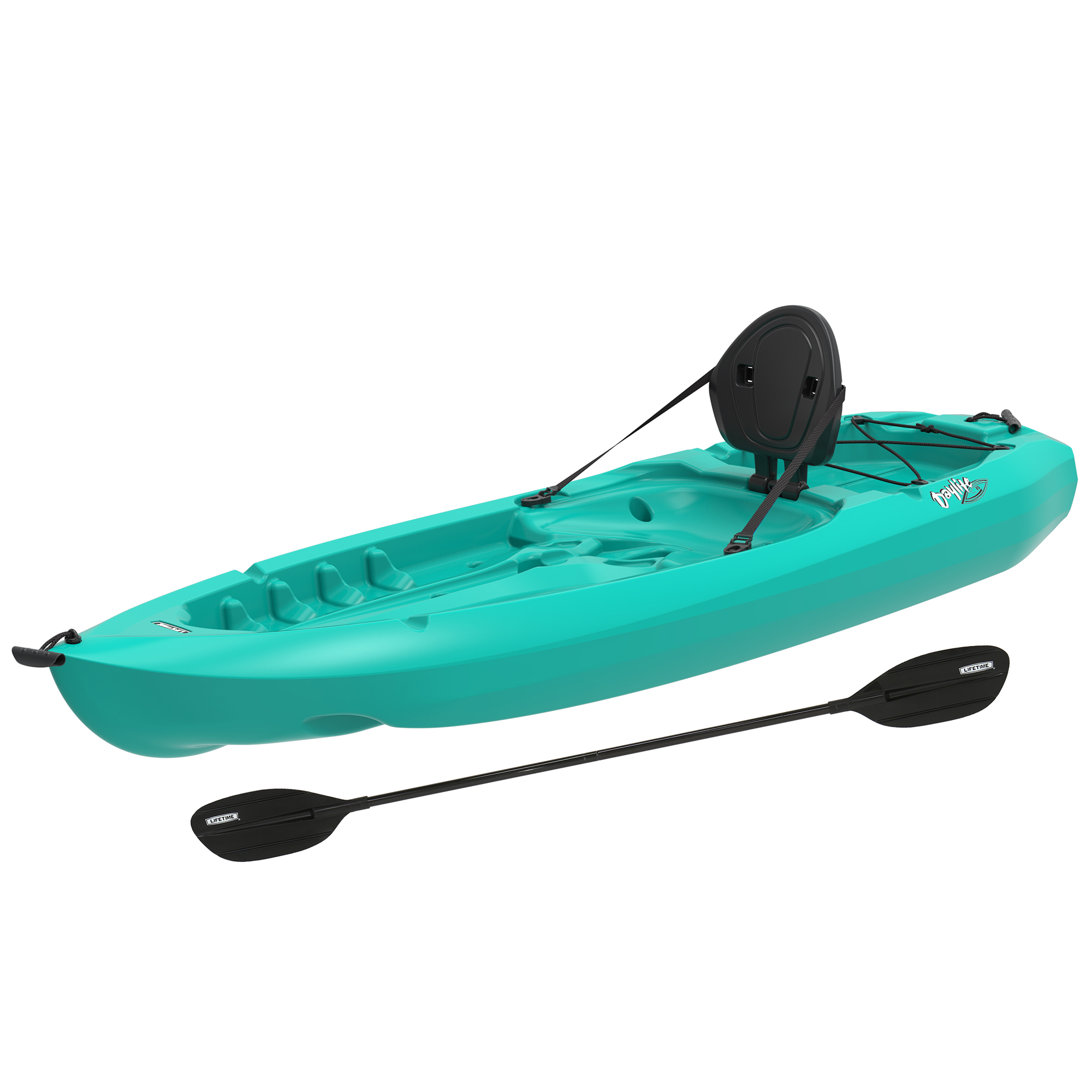 Lifetime Daylite 80 Sit-On-Top Kayak (Paddle Included), 90811 by Lifetime Products