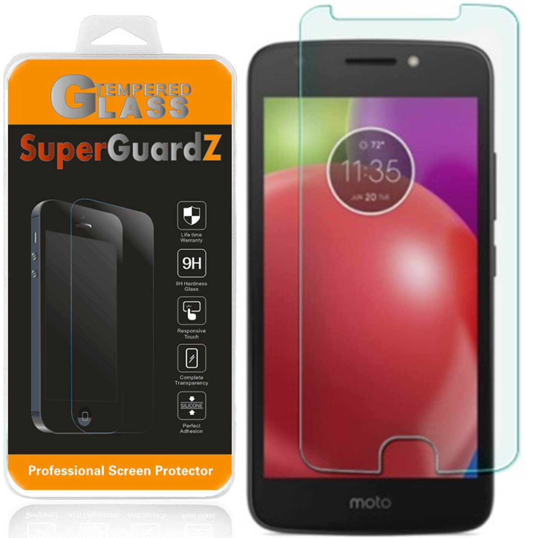 [3-Pack] For Motorola Moto E4 - SuperGuardZ Tempered Glass Screen Protector, 9H, Anti-Scratch, Anti-Bubble, Anti-Fingerprint
