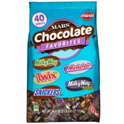 Mars Chocolate Variety Pack Candy Bars, Minis Size, 40 Oz
