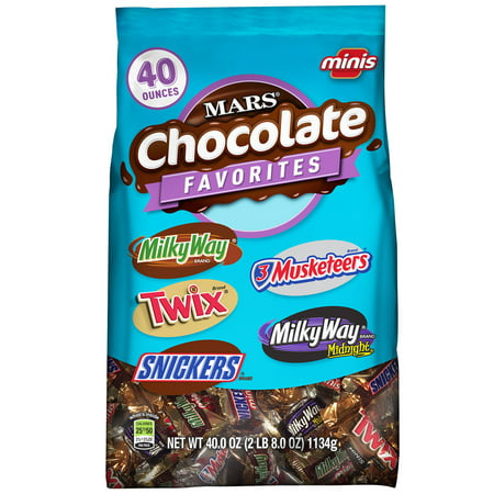 Mars Minis Chocolate Favorites Variety Pack - 40oz
