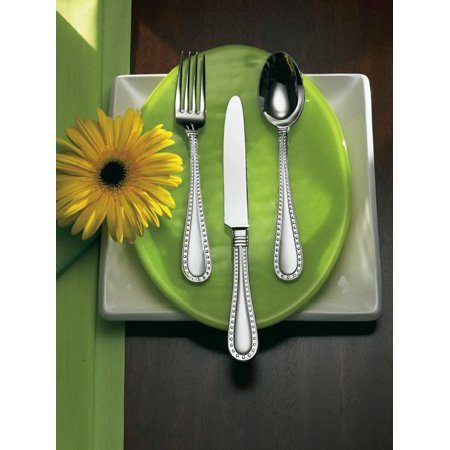 Argentieri Rivets Polished Salad Fork, By Ricci