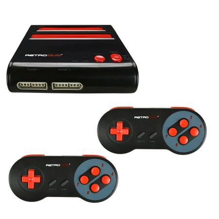 Retro-Bit Retro Duo Twin Video Game System NES and SNES V3.0 - (Retro Duo Nes Snes Game System Review)