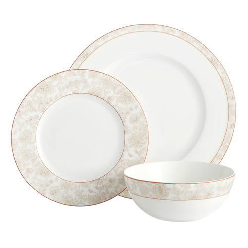 Auratic Inc. Britska 3 Piece Place Setting by