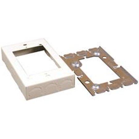 LEGRAND V5751 Flush Type Box Extension Adapter,Ivory Supply Flush Type Material