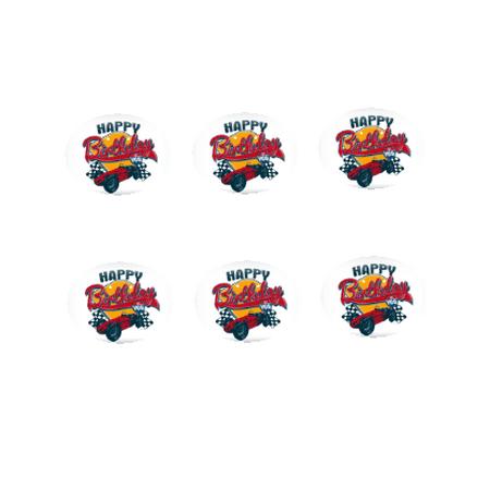 Happy Birthday To You 12 - 2 inch Cupcake Edible Frosting Photos - Happy Birthday Spongebob