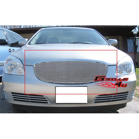 Compatible with 2006-2009 Buick Lucerne Main Upper Billet Grille Grill Insert S86490A Dakota Billet Grille Grill