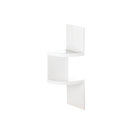 White corner shelf unit wooden bathroom corner shelf 4 - White bathroom corner shelf unit ...