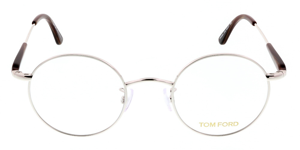 e11fb25d7 Tom Ford FT5344/V 016 Silver Round Optical Frames - Walmart.com