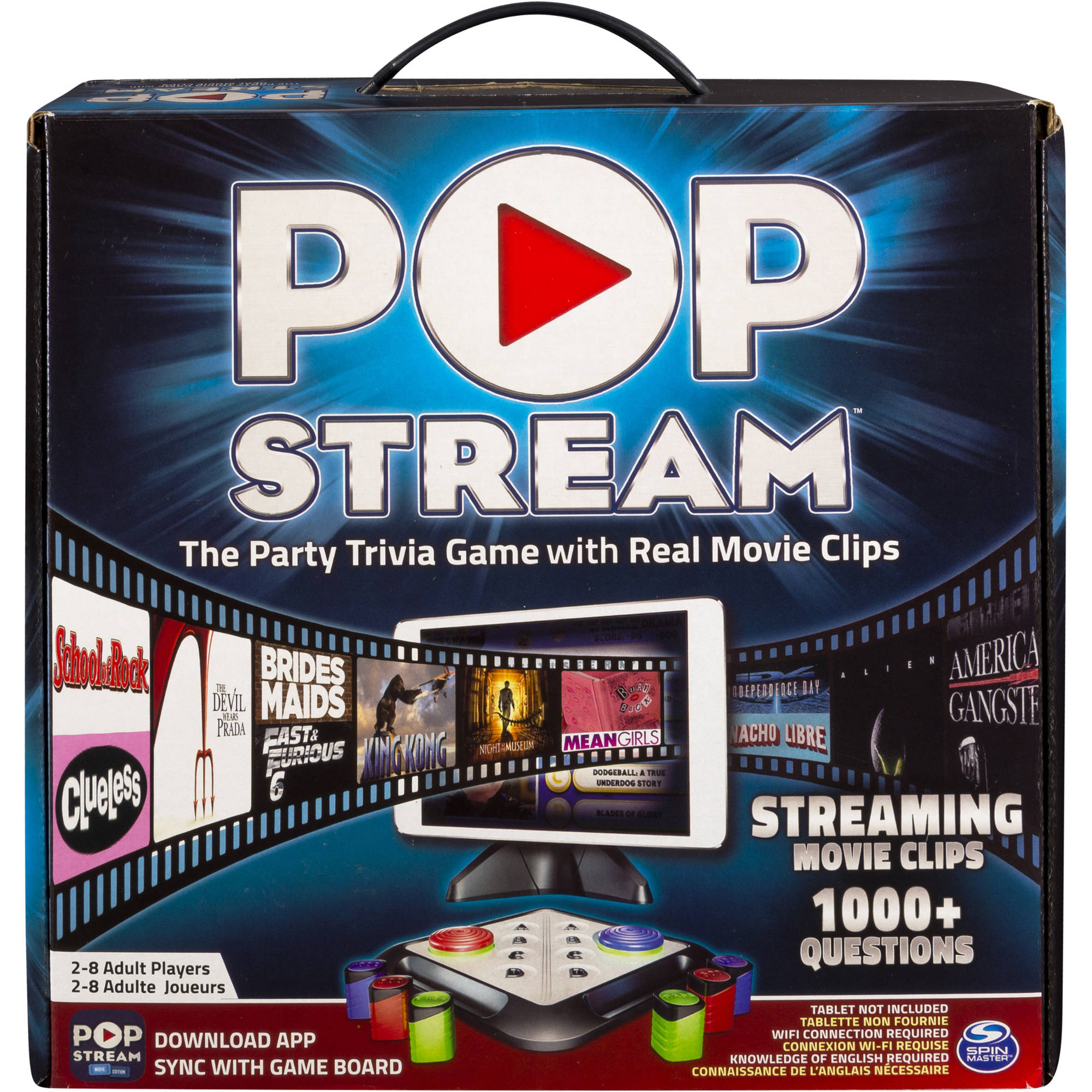 Spin Master Games Pop Stream Board Game 6022565