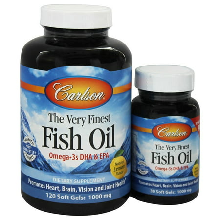 Carlson labs the very finest norwegian fish oil omega 3 for Carlson norwegian fish oil