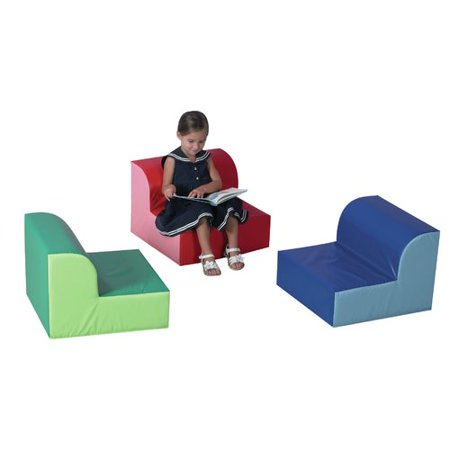 Childrens Primary Library Chair Set