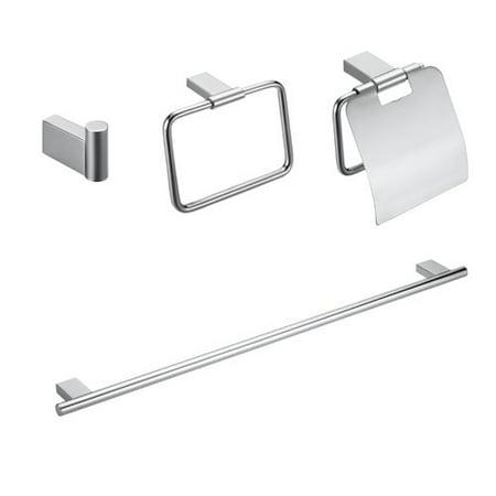 Maykke Benidorm 4 Piece Bathroom Hardware Set