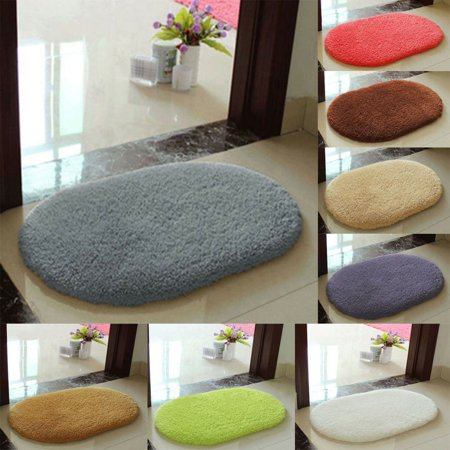 The Noble Collection Absorbent Soft Bathroom Bedroom Floor Non-slip Mat Memory Foam Bath Shower Rug (Bath Mats Ikea)