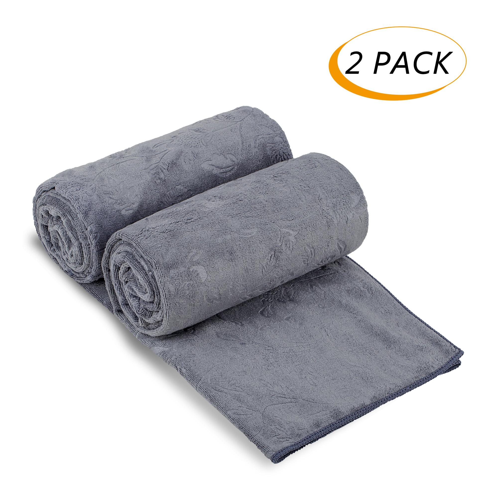 "JML Bath Towel, 2 Pack Microfiber Bath Towel Sets (30"" x 60"") Extra Absorbent,... by JML"