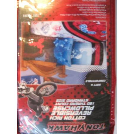 Tony Hawk Wing Skulls Reversible Pillowcase](Tony Hawk Halloween)