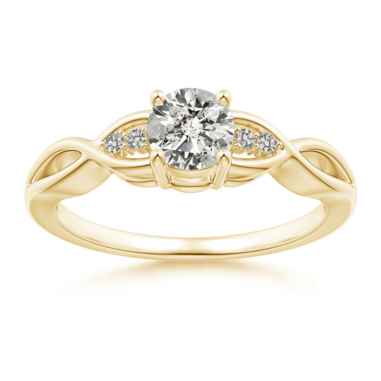 april birthstone infinity twist round diamond promise. Black Bedroom Furniture Sets. Home Design Ideas