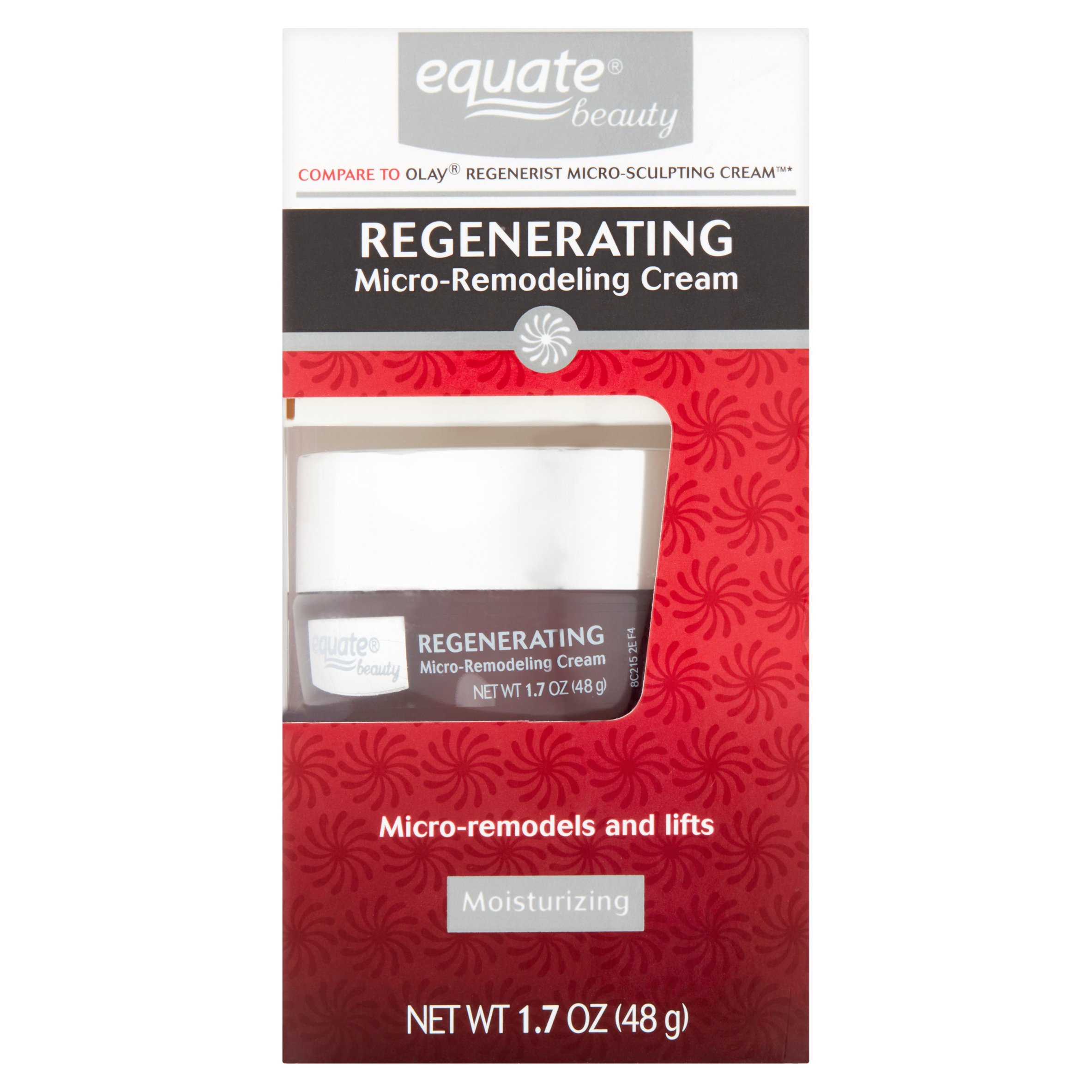 Equate Rejuvenating Micro-Remodeling Cream, 1.7 Oz