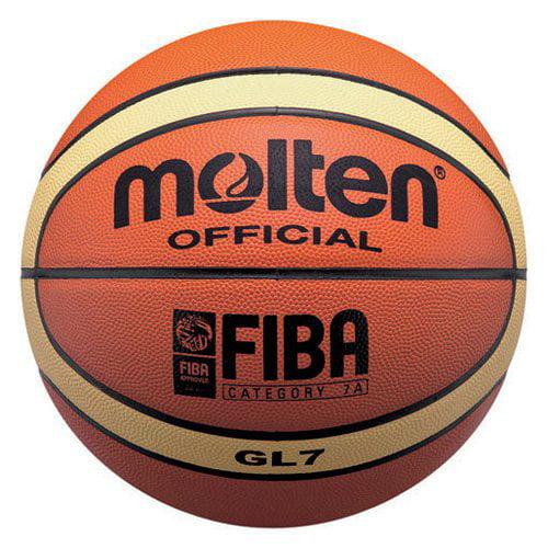 Molten FIBA Approved Top Grain Leather Basketball