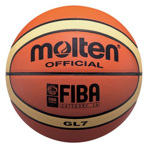 Molten FIBA Approved Top Grain Leather Basketball