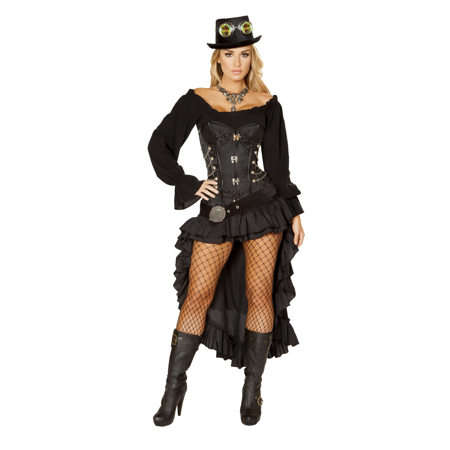 Victorian Steam Maiden Adult Costume - - Victorian Costumes For Adults