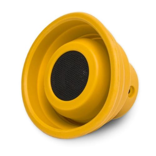 Oblanc X-Horn Wireless Bluetooth 2.1 +EDR Collapsible Speaker Portable Universal - Yellow