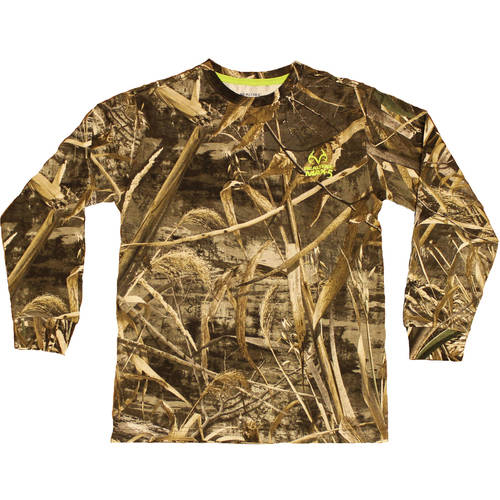 Boys' Long Sleeve Camo Tshirt, Xtra by Generic