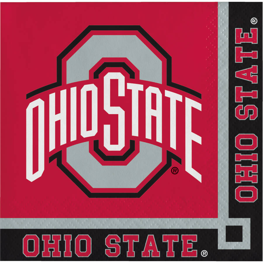 Ohio State University Beverage Napkins, 20pk