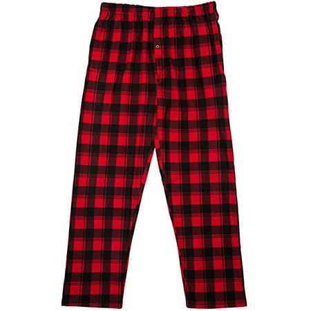 North 15 Boy's Plaid Plush Fleece Pajama Pants-1205B-Design3-8](Custom Design Pajamas)