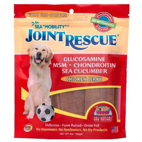 Ark Naturals Sea Mobility Joint Rescue Chicken Jerky for Dogs, 9 oz