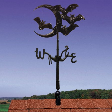 Halloween Bat Rooftop Weathervane, Black Eagle Rooftop Weathervane