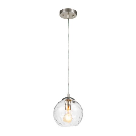 Better Homes & Gardens Clear Glass Pendant Light (Plum Glass Pendant)