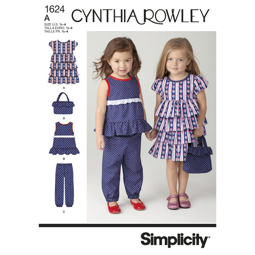 SIMPLICITY TODDLERS SPORTSWEAR-1/2-1-2-3-4