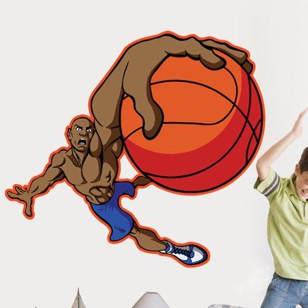 Basketball Cutouts (Wallhogs Winn Basketball Dunk Cutout Wall)