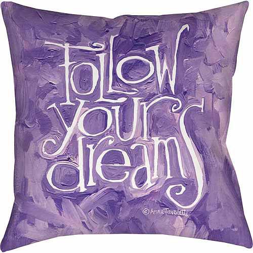 IDG Follow Your Dreams Indoor Pillow