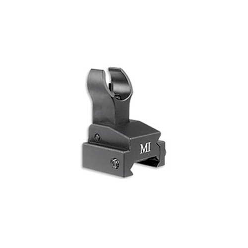 Midwest Industries Sight, Fits Picatinny, Front, Flip Up, Black by Midwest Industries