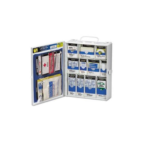 Medium First Aid Kit, 136 Pieces, OSHA Compliant, Metal Case