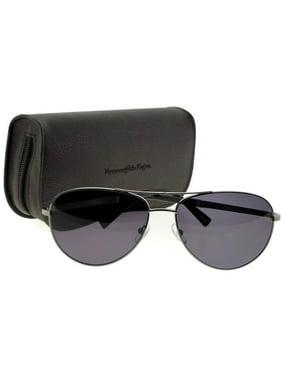 0914bf9c404e Product Image Ermenegildo Zegna EZ0035-12A-61 Pilot Men's Grey Frame Grey Lens  Sunglasses NWT