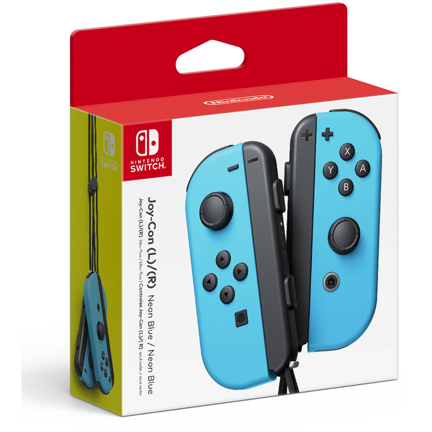 Nintendo Switch Joy-Con Pair (L/R), Blue, HACAJACAA