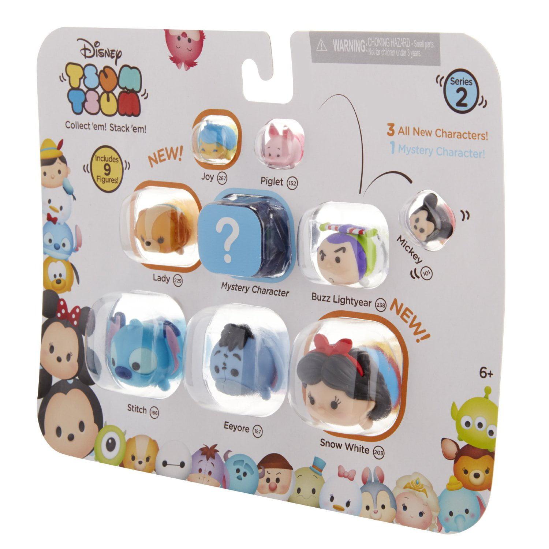Details about  /BARREL Disney Tsum Tsum Color Pop Mystery Pack Stackable Figure Walmart
