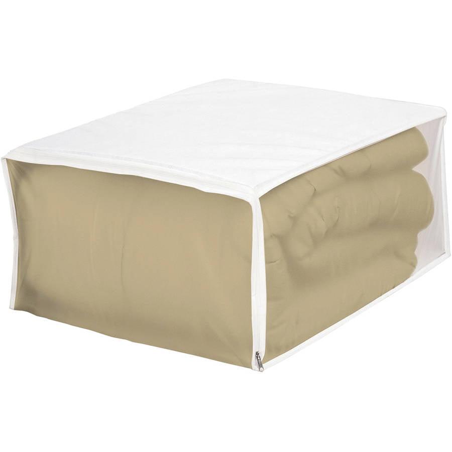 Whitmor 5003-09 White Blanket Storage bag by Whitmor
