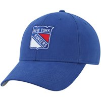 Youth Blue New York Rangers Mass Basic Adjustable Hat - OSFA