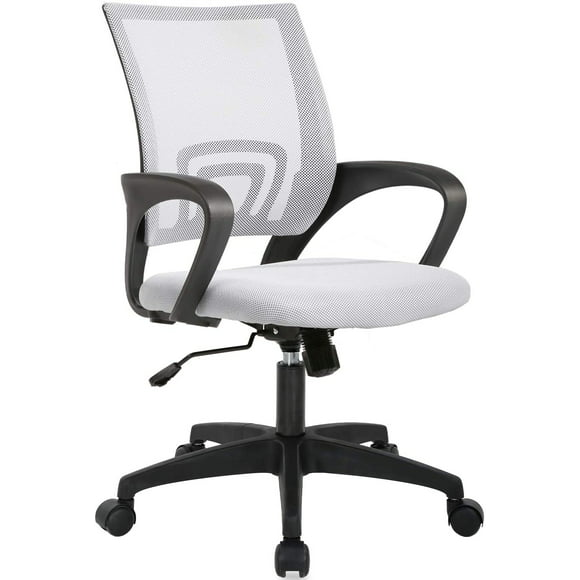 Office Chairs White, White Computer Desk Chairs