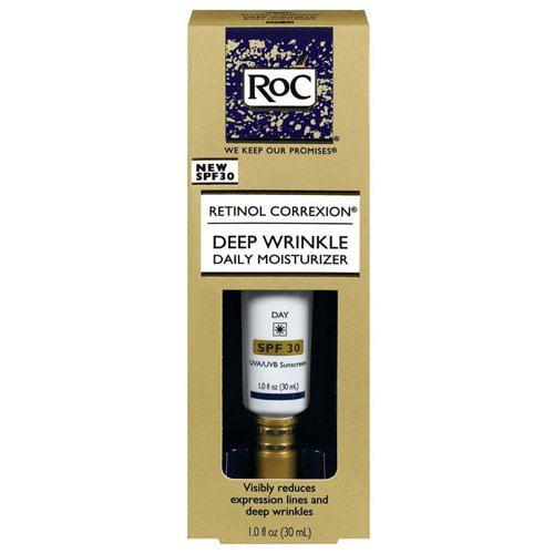 RoC Retinol Correxion Deep Wrinkle Daily Moisturizer SPF