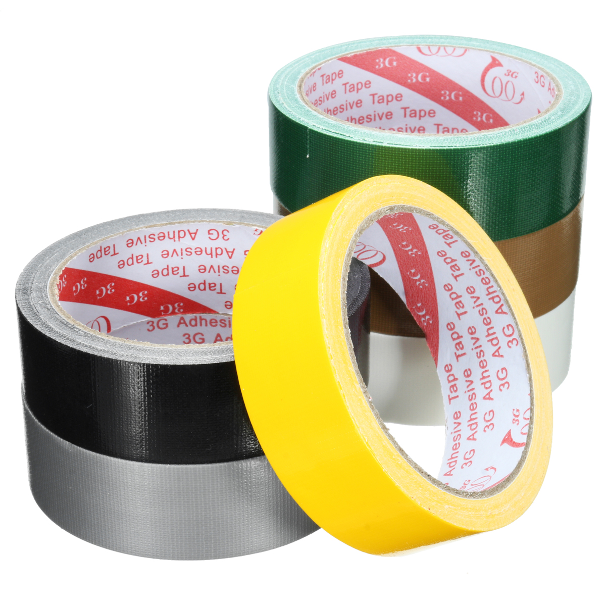 "1.18""x393"" Waterproof Self Adhesive Repair Cloth Tape Performance Repair Tape Self Adhesive Tape Packaging Tape Duct Pipe Wrap Carpet"