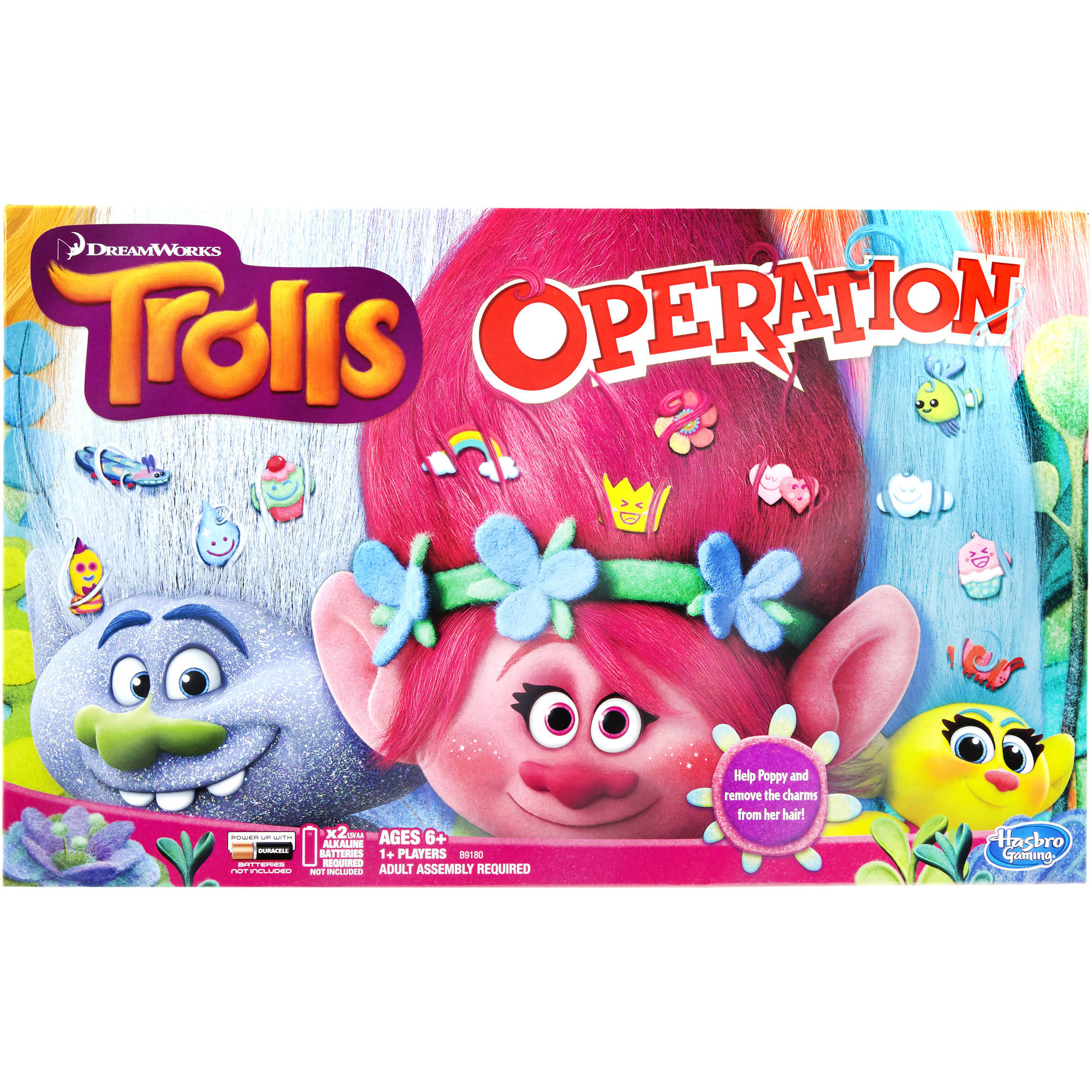 DreamWorks Trolls Operation Game by Hasbro